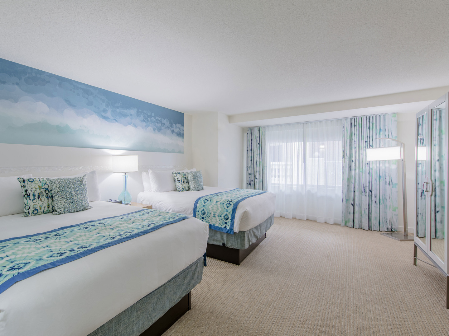 Marriott Vacation Club Pulse<span class='trademark'>®</span>, South Beach Studio Double Queens. Marriott Vacation Club Pulse<span class='trademark'>®</span>, South Beach is located in Miami Beach, Florida United States.