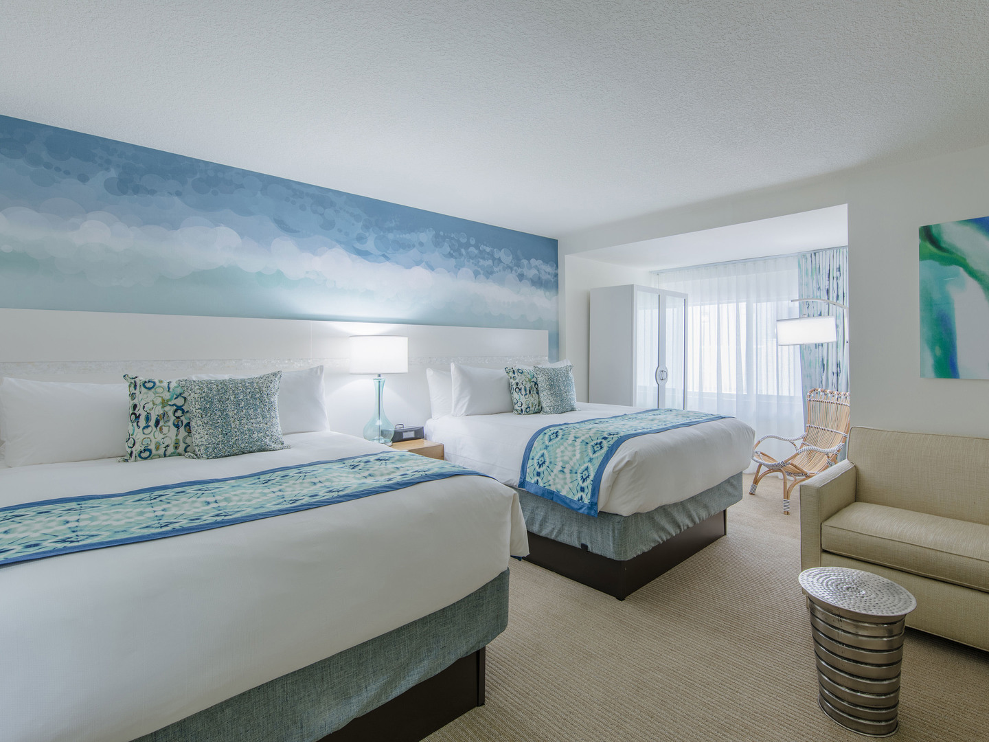 Marriott Vacation Club Pulse<span class='trademark'>®</span>, South Beach Studio Doubles. Marriott Vacation Club Pulse<span class='trademark'>®</span>, South Beach is located in Miami Beach, Florida United States.