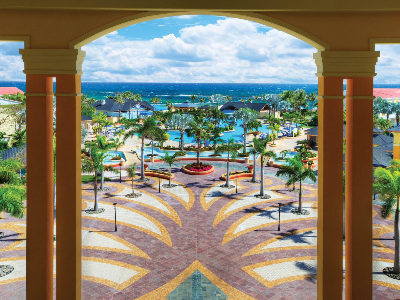 Marriott's St. Kitts Beach Club Resort Grounds and Main Pool. Marriott's St. Kitts Beach Club is located in St. Kitts,  St. Kitts and Nevis.