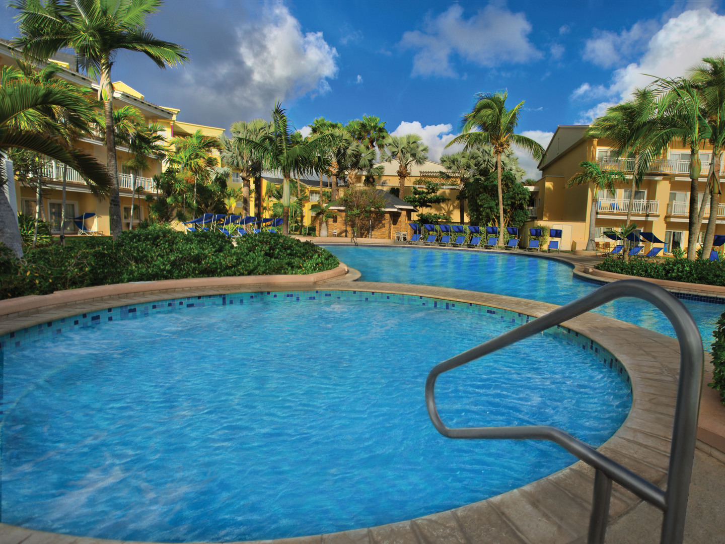 Marriott's St. Kitts Beach Club North Pool. Marriott's St. Kitts Beach Club is located in St. Kitts,  St. Kitts and Nevis.