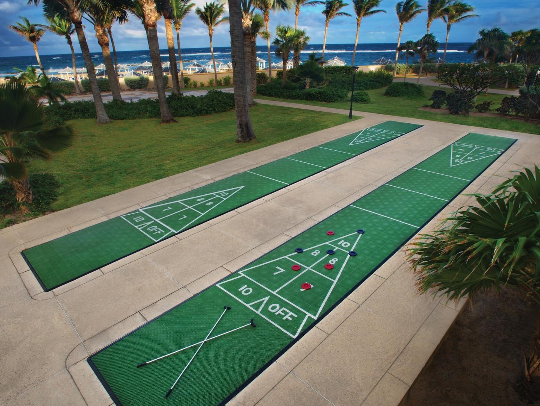 Marriott's St. Kitts Beach Club Shuffleboard. Marriott's St. Kitts Beach Club is located in St. Kitts,  St. Kitts and Nevis.
