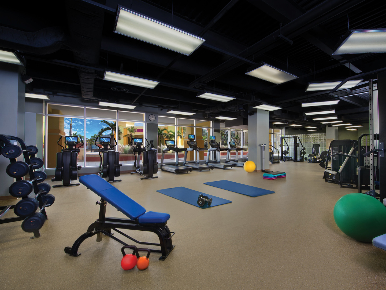 Marriott's St. Kitts Beach Club Fitness Center. Marriott's St. Kitts Beach Club is located in St. Kitts,  St. Kitts and Nevis.