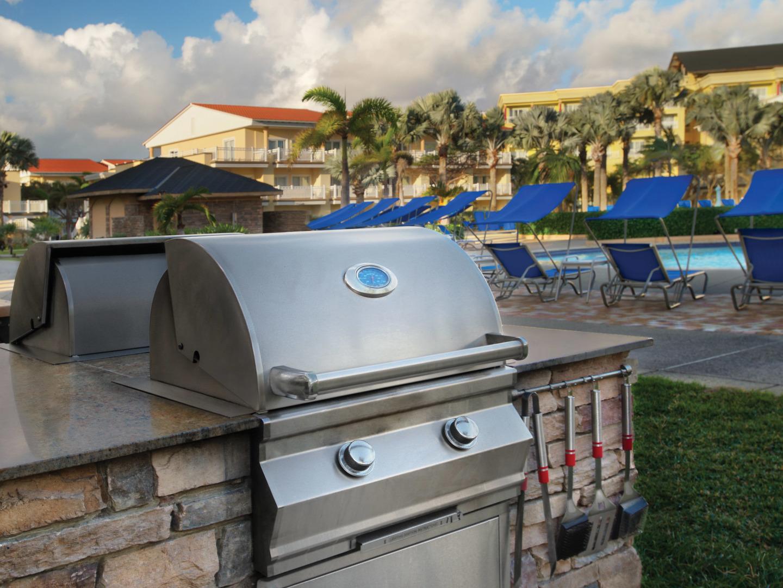 Marriott's St. Kitts Beach Club Grills. Marriott's St. Kitts Beach Club is located in St. Kitts,  St. Kitts and Nevis.