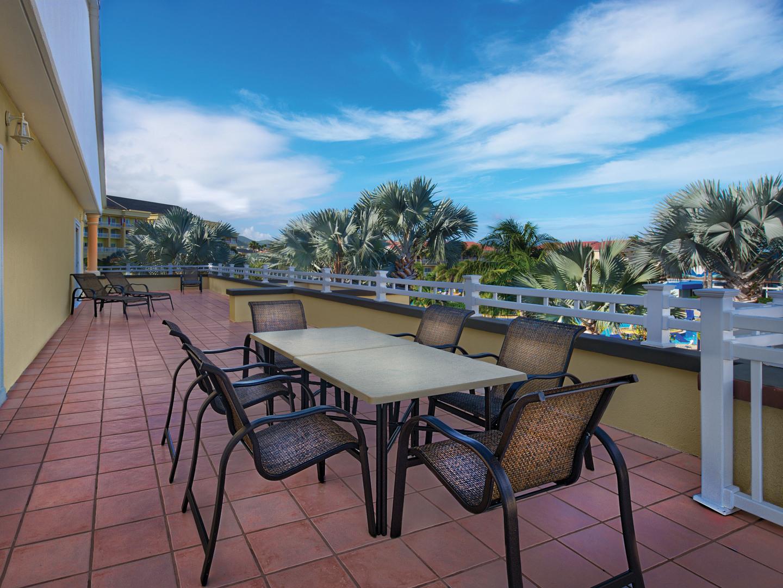 Marriott's St. Kitts Beach Club Villa Balcony. Marriott's St. Kitts Beach Club is located in St. Kitts,  St. Kitts and Nevis.