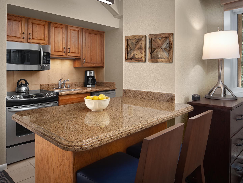 Marriott's StreamSide - Birch Villa Studio Kitchen, Birch. Marriott's StreamSide - Birch is located in Vail, Colorado United States.
