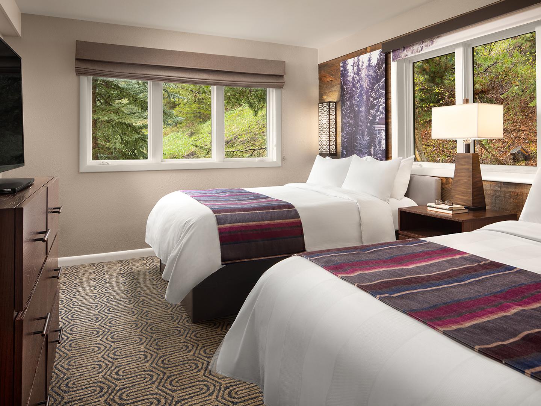 Marriott's StreamSide - Birch 2-Bedroom/2-Bath Villa, Guest Bedroom, Birch. Marriott's StreamSide - Birch is located in Vail, Colorado United States.