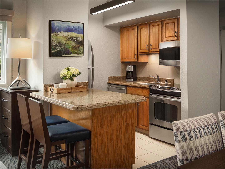 Marriott's StreamSide - Birch 1-Bedroom/2-Bath Villa Kitchen, Birch. Marriott's StreamSide - Birch is located in Vail, Colorado United States.