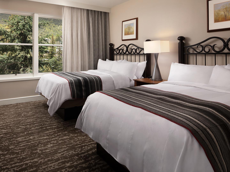 Marriott's StreamSide - Birch 2-Bedroom/2 Bath Villa, Guest Bedroom, Evergreen. Marriott's StreamSide - Birch is located in Vail, Colorado United States.