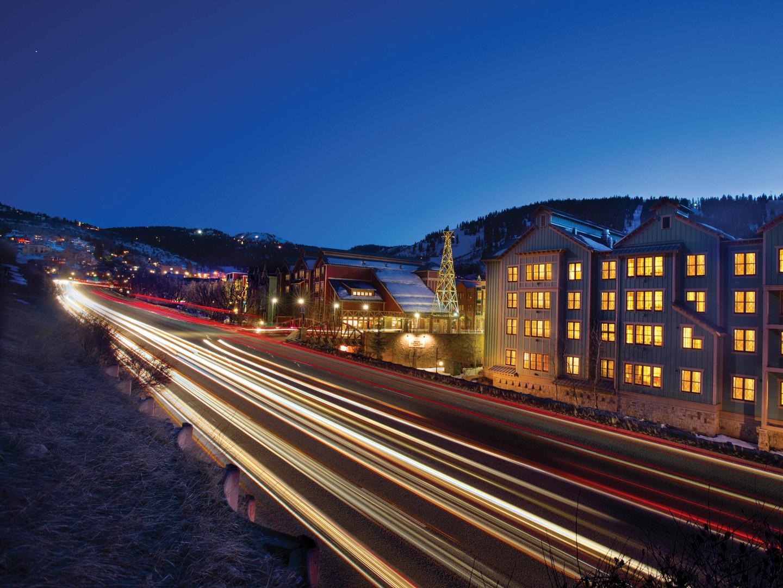 Marriott's Summit Watch Resort Exterior. Marriott's Summit Watch is located in Park City, Utah United States.
