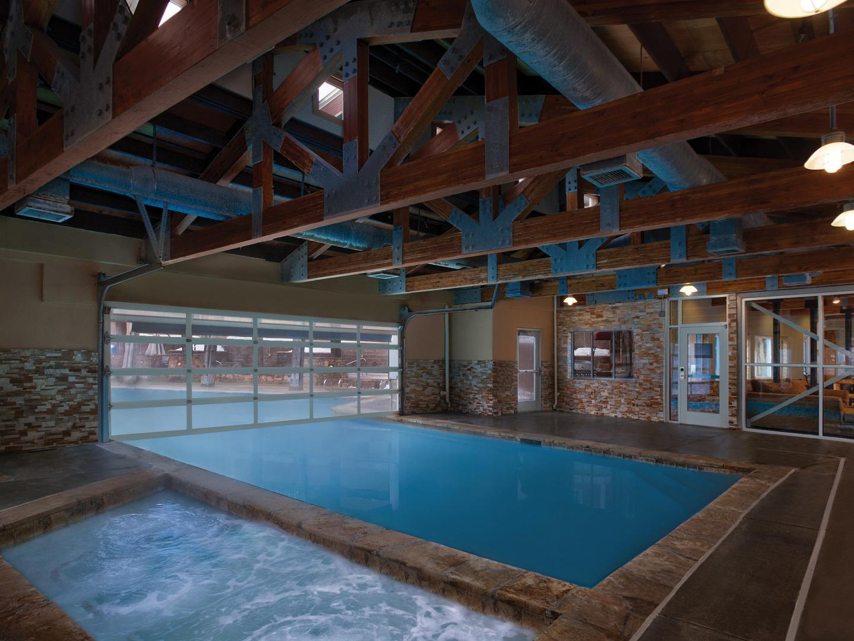 Marriott's Summit Watch Main Pool. Marriott's Summit Watch is located in Park City, Utah United States.