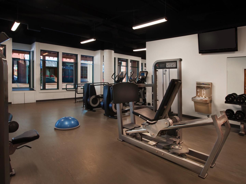 Marriott's Summit Watch Fitness Center. Marriott's Summit Watch is located in Park City, Utah United States.