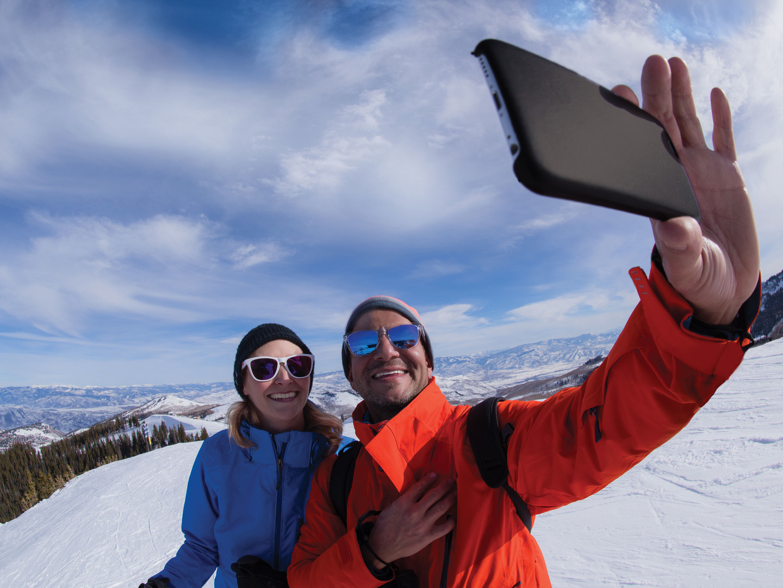 Marriott's Summit Watch Park City Mountain Top Selfie. Marriott's Summit Watch is located in Park City, Utah United States.