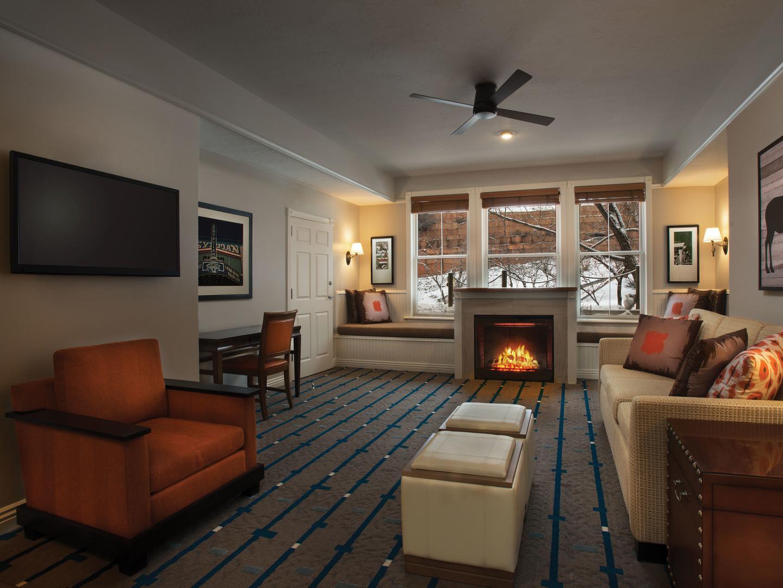 Marriott's Summit Watch Villa Living Room. Marriott's Summit Watch is located in Park City, Utah United States.