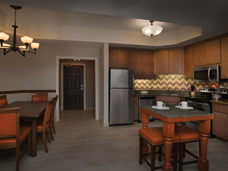 Marriott's Summit Watch Villa Dining Room/Kitchen. Marriott's Summit Watch is located in Park City, Utah United States.