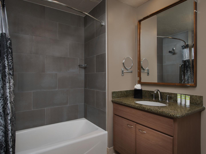 Marriott's Summit Watch Villa Guest Bathroom. Marriott's Summit Watch is located in Park City, Utah United States.