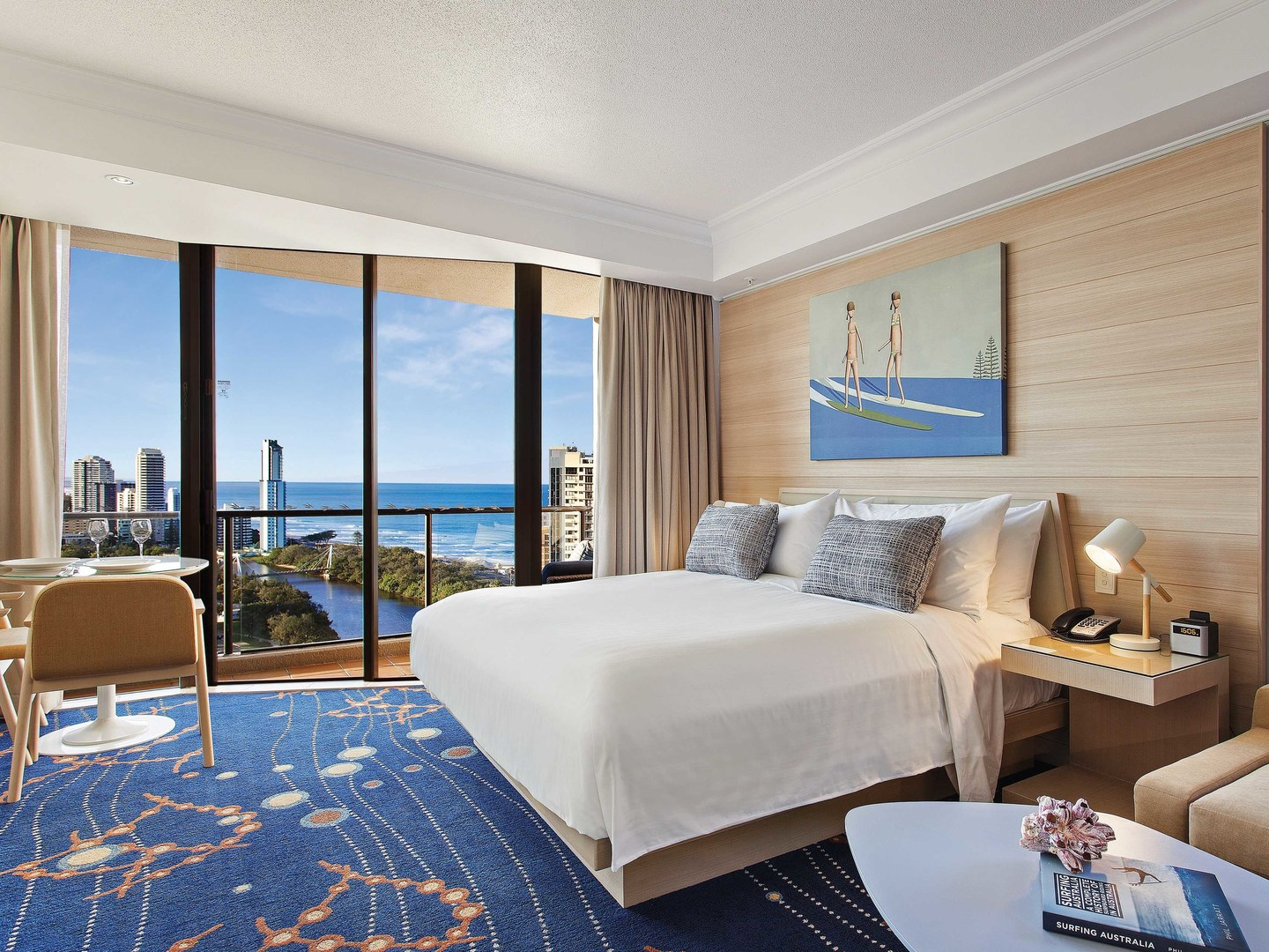 Marriott Vacation Club<span class='trademark'>℠</span> at Surfers Paradise Guest Bedroom/Living Room. Marriott Vacation Club<span class='trademark'>℠</span> at Surfers Paradise is located in Gold Coast, Surfers Paradise Australia.