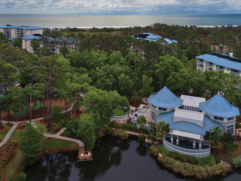 Marriott's SurfWatch<span class='trademark'>®</span> Aerial Property View. Marriott's SurfWatch<span class='trademark'>®</span> is located in Hilton Head Island, South Carolina United States.