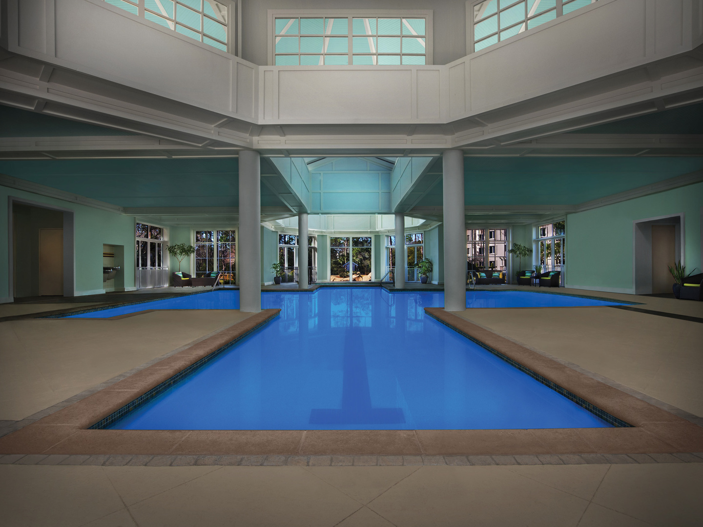 Marriott's SurfWatch<span class='trademark'>®</span> Indoor Pool. Marriott's SurfWatch<span class='trademark'>®</span> is located in Hilton Head Island, South Carolina United States.