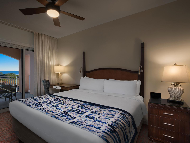 Marriott's SurfWatch<span class='trademark'>®</span> Villa Master Bedroom. Marriott's SurfWatch<span class='trademark'>®</span> is located in Hilton Head Island, South Carolina United States.