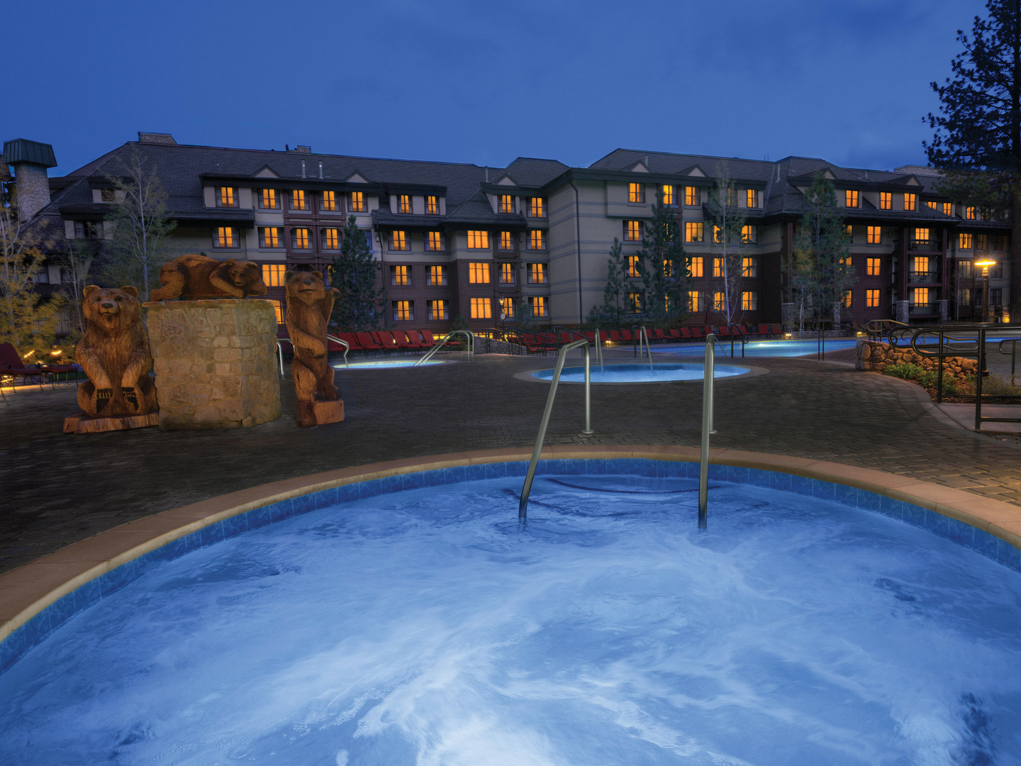 Marriott's Timber Lodge<span class='trademark'>®</span> Whirlpool Spa. Marriott's Timber Lodge<span class='trademark'>®</span> is located in South Lake Tahoe, California United States.