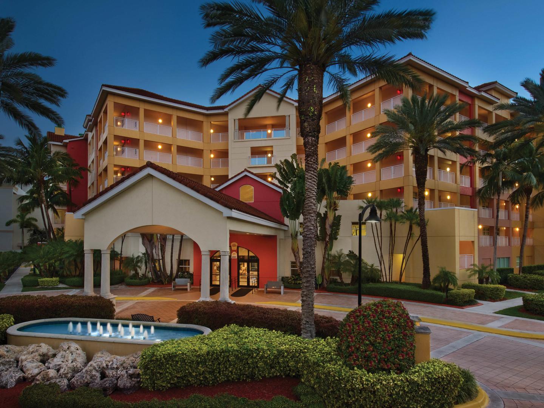 Marriott's Villas at Doral Resort Entrance. Marriott's Villas at Doral is located in Miami, Florida United States.