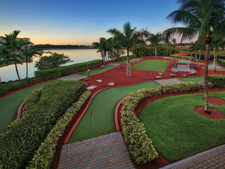 Marriott's Villas at Doral Mini Golf Course. Marriott's Villas at Doral is located in Miami, Florida United States.
