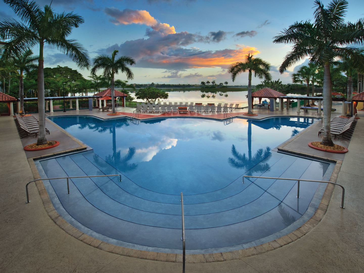 Marriott's Villas at Doral Oasis Pool. Marriott's Villas at Doral is located in Miami, Florida United States.