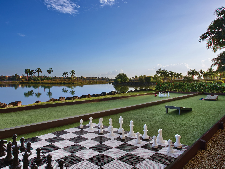 Marriott's Villas at Doral Lawn Activities. Marriott's Villas at Doral is located in Miami, Florida United States.