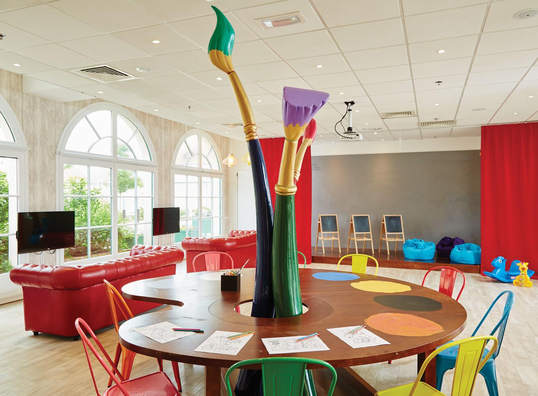 Marriott's Village d'Ile-de-France Kids Club. Marriott's Village d'Ile-de-France is located in Bailly-Romainvilliers,  France.