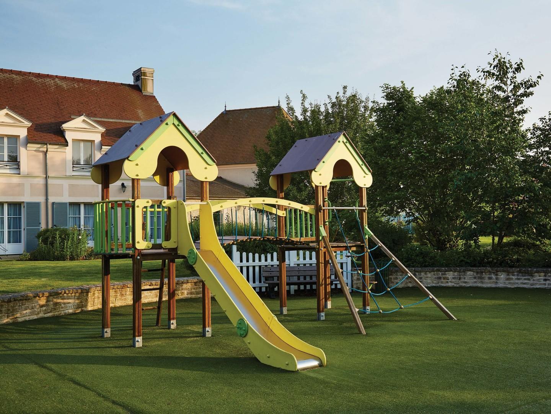 Marriott's Village d'Ile-de-France Playground. Marriott's Village d'Ile-de-France is located in Bailly-Romainvilliers,  France.