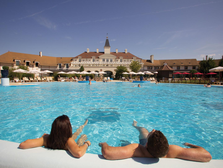 Marriott's Village d'Ile-de-France Pool. Marriott's Village d'Ile-de-France is located in Bailly-Romainvilliers,  France.
