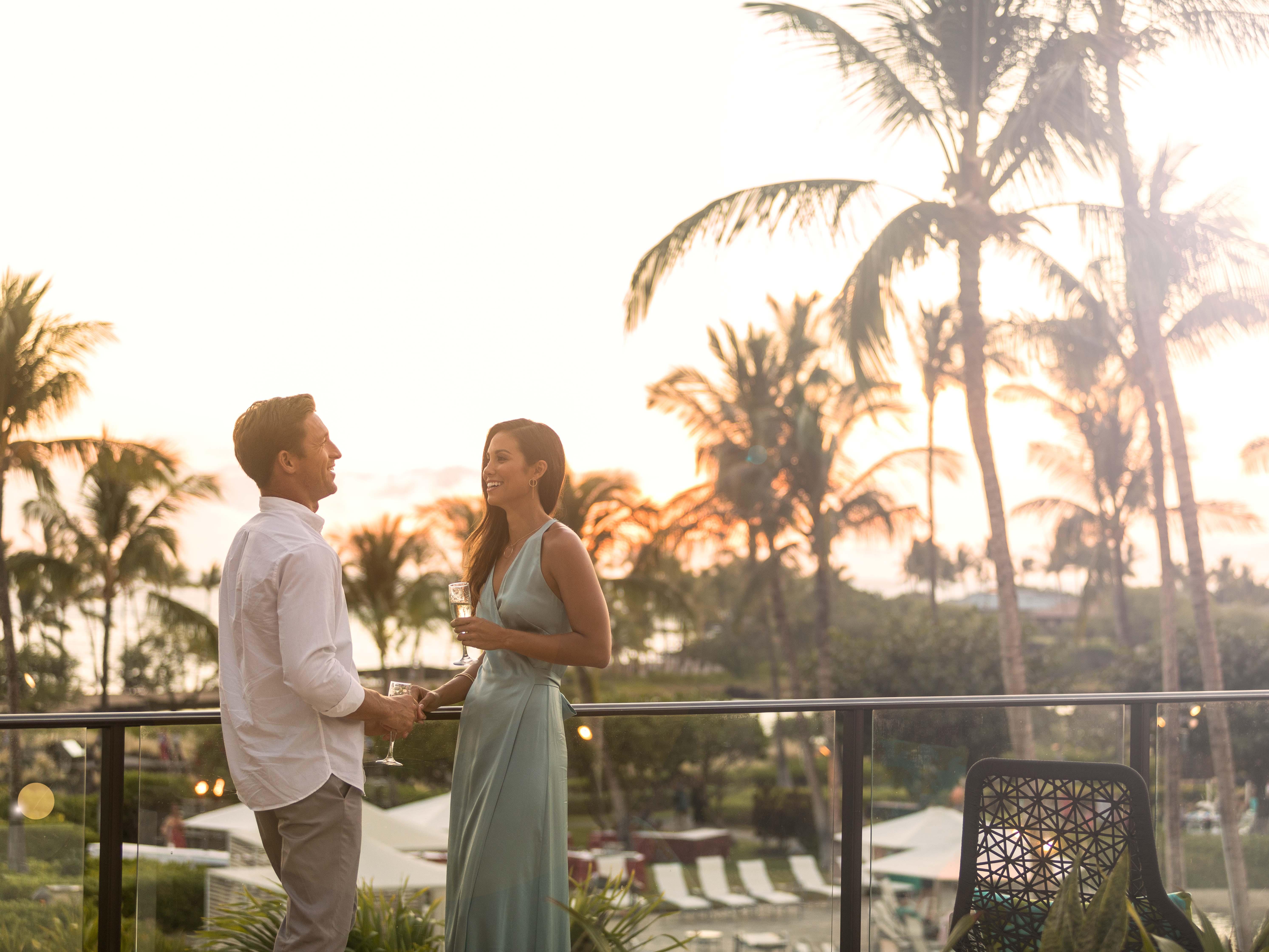 Marriott's Waikoloa Ocean Club Terrace Meeting. Marriott's Waikoloa Ocean Club is located in Waikoloa Beach, Big Island, Hawai'i United States.
