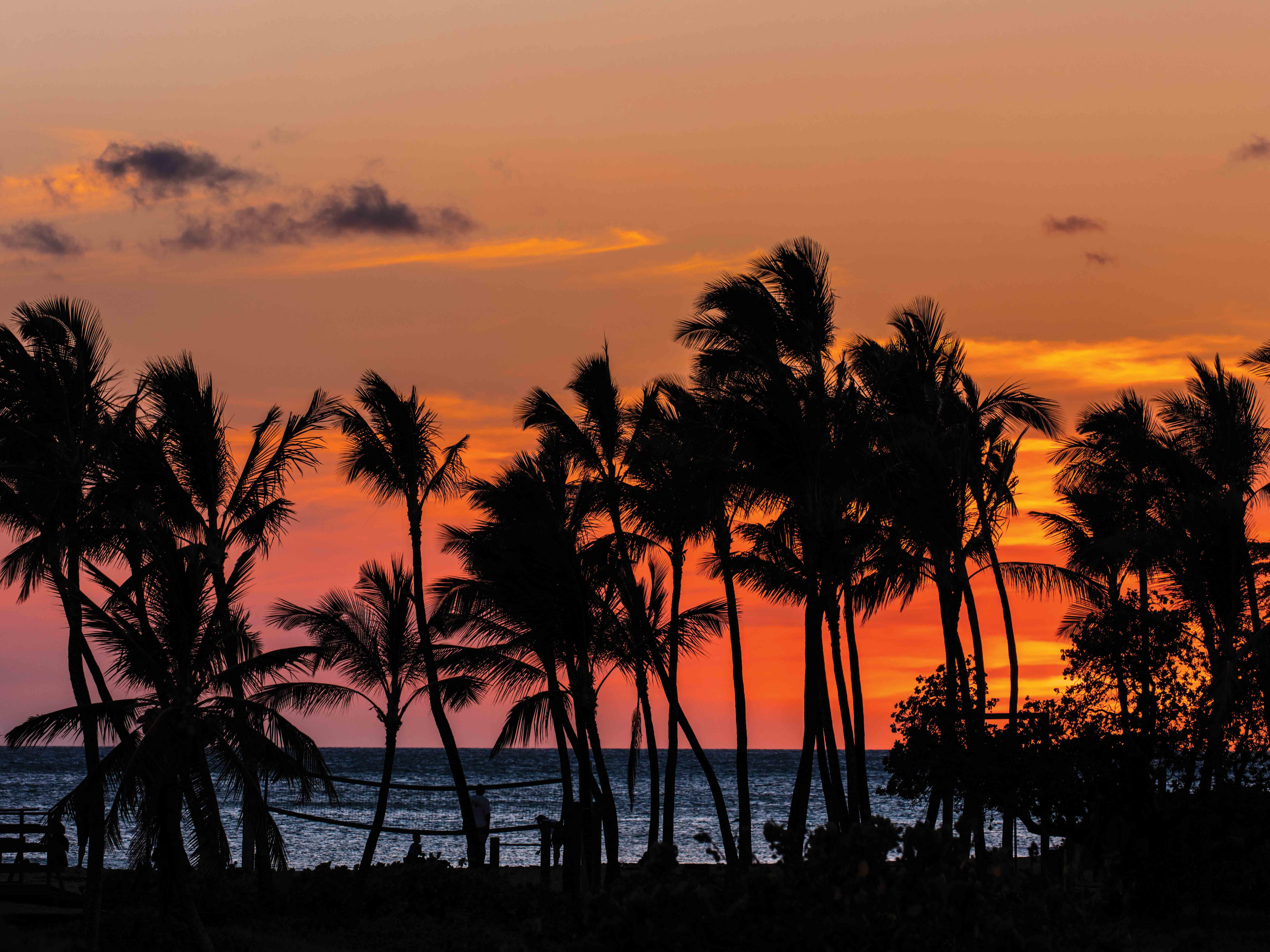 Marriott's Waikoloa Ocean Club Kona Sunset. Marriott's Waikoloa Ocean Club is located in Waikoloa Beach, Big Island, Hawai'i United States.