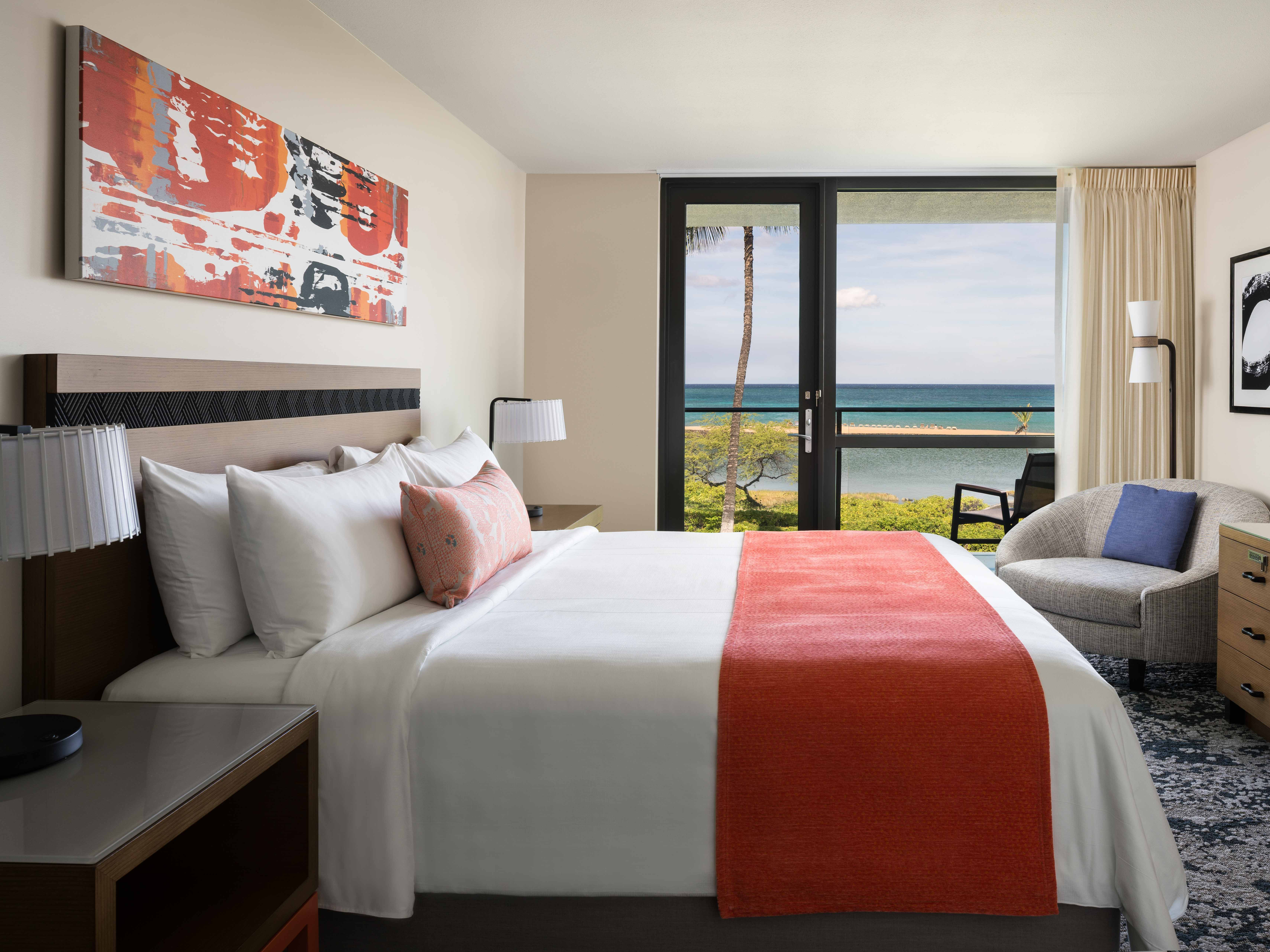 Marriott's Waikoloa Ocean Club Master Bedroom. Marriott's Waikoloa Ocean Club is located in Waikoloa Beach, Big Island, Hawai'i United States.