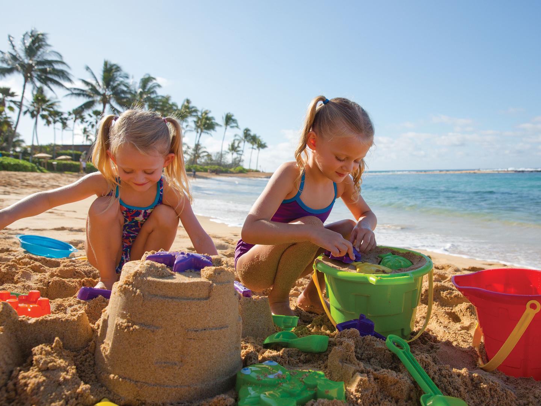 Marriott's Waiohai Beach Club Fun in the Sand. Marriott's Waiohai Beach Club is located in Koloa, Kauai, Hawai'i United States.