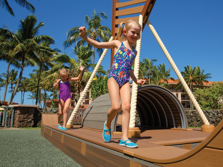 Marriott's Waiohai Beach Club Kids Zone. Marriott's Waiohai Beach Club is located in Koloa, Kauai, Hawai'i United States.
