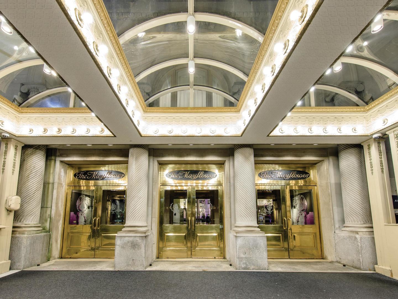 Marriott Vacation Club Pulse<span class='trademark'>®</span> at The Mayflower, Washington, D.C. Entrance. Marriott Vacation Club Pulse<span class='trademark'>®</span> at The Mayflower, Washington, D.C. is located in Washington, D.C. United States.