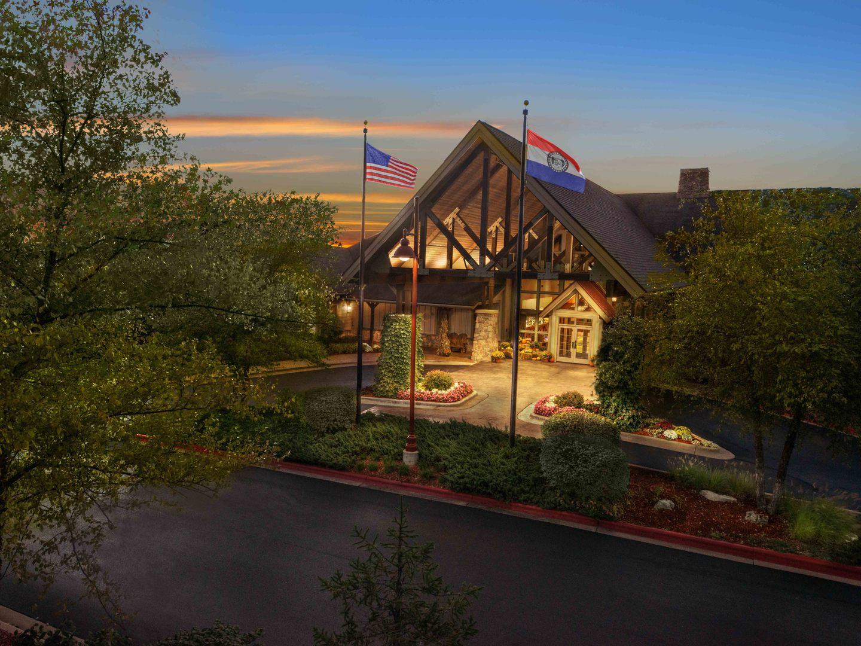Marriott's Willow Ridge Lodge Aerial Resort View. Marriott's Willow Ridge Lodge is located in Branson, Missouri United States.