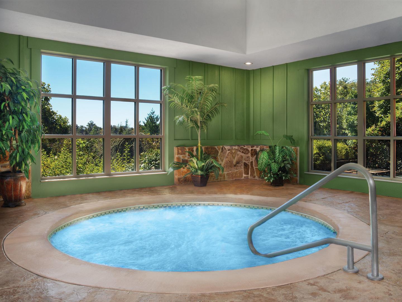 Marriott's Willow Ridge Lodge Indoor Whirlpool. Marriott's Willow Ridge Lodge is located in Branson, Missouri United States.