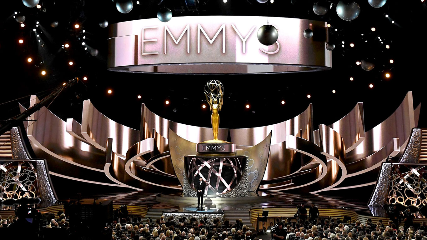 View of The Emmy Awards ceremony. An experience you can enjoy from the Mezzanine level.