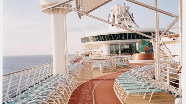 Inside view of a Royal Caribbean Cruiseship.  Take a 7 Night cruise in the Caribbean.