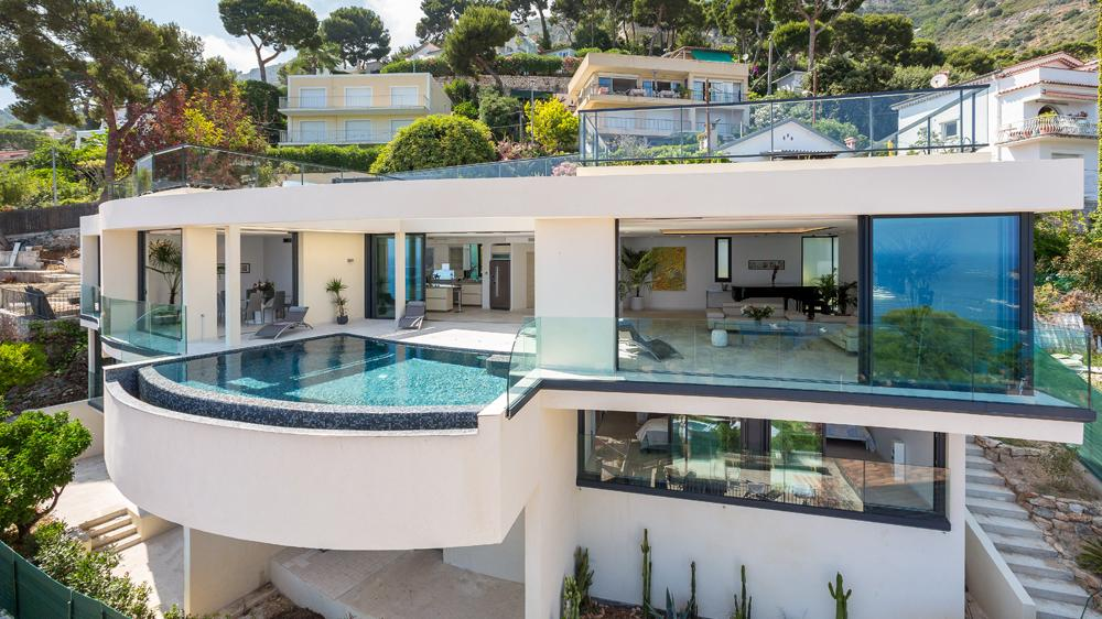 Villa Paradise Overlooking The Bay Of Eze In Cote Du0027Azur U0026 St. Tropez
